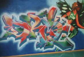 Grafiteiros e picadiscos